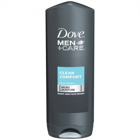 Dove Men + Care Body & Face Wash, Clean Comfort 18 oz [011111051249]