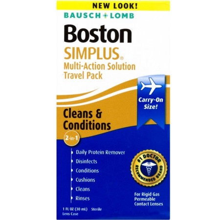 Bausch & Lomb Boston Simplus Multi-Action Solution Travel Kit 1 Each [047144073385]