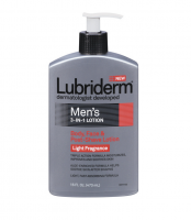 Lubriderm Men's 3-in-1 Body, Face & Post-Shave Lotion, Light Fragrance 16 oz [052800480728]