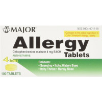 MAJOR Allergy Tablet 100 ea [309040012593]