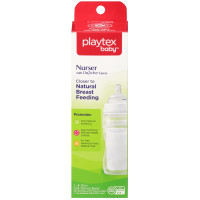 Playtex Nurser Drop-Ins Liners Premium 8-10 oz BPA-Free Bottle 1 ea [078300058854]