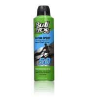 BullFrog Water Armour Sport Instacool Sunscreen Spray, SPF 50 6 oz [000774316680]