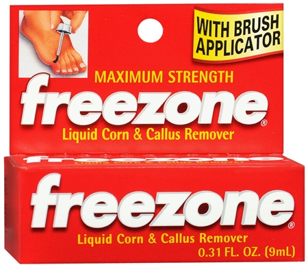 Freezone Corn and Callus Remover Liquid 0.31 oz [375137520104]