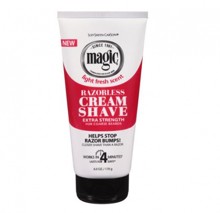 Magic Shave Cream Extra-Strength 6 oz [075285008270]