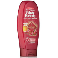 Garnier Whole Blends Color Care Conditioner with Argan Oil & Cranberry Extracts 22 oz [603084459421]