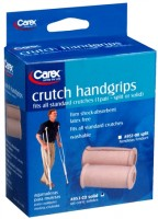 Carex Crutch Handgrips Solid A953-00 2 Each [023601320018]