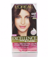 L'Oreal Excellence Creme - 4AR Velvet Brown (Dark Chocolate Brown) 1 Each [071249121450]