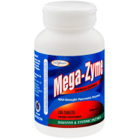 Enzymatic Therapy Mega-Zyme Systemic Enzymes Tablets 200 ea [763948042500]