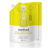 Method Dish Soap Pump Refill, Lemon Mint  36 oz [817939013410]