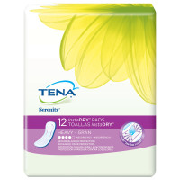 Tena Incontinence Pads for Women, InstaDRY Heavy, Regular, 12 Count [768702473019]