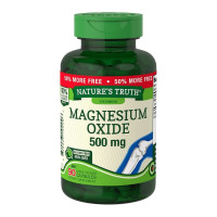 Nature's Truth Magnesium Oxide 500 mg Quick Release Capsules, 90 ea [840093102096]