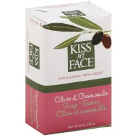 Kiss My Face Bar Soap, Olive & Chamomile 8 oz [028367828396]