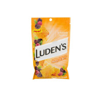 Ludens Deliciously Soothing Throat Drops, Honey & Berry Flavor,  25 ea [814832017262]
