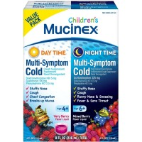 Mucinex Children's Multi-Symptom Day & Night Cold Relief Liquid, 2 x 4 oz? [363824909943]