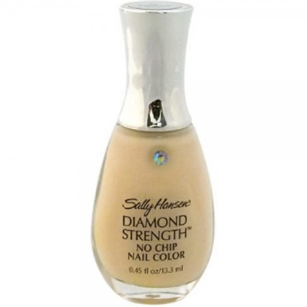 No Chip Nail Polish Reviews: Sally Hansen Diamond Strength No Chip Nail Color, Baguette