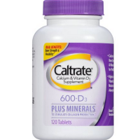 Caltrate Calcium & Vitamin D Plus Minerals, 600+D3 120 Tablets [300055556232]