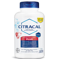 Citracal Maximum Plus Coated Caplets, 120 ea [016500535058]