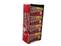 Ice Breakers Ice Cube Strawberry Smoothie Gum 8 packs (10 ct per pack)  [034000700172]