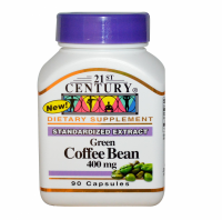21st Century Green Coffee Bean 400 mg Capsule 90 ea [740985275078]