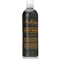Shea Moisture African Black Soap Body Wash 13 oz [764302270027]