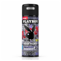 Playboy  New York Coty Deodorant & Body Spray For Men 5.0 oz [3614221999486]