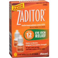 Zaditor Antihistamine Eye Drops Twin Pack 0.34 oz