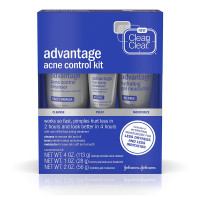 CLEAN & CLEAR Advantage Acne Control Kit 1 ea [381371163755]