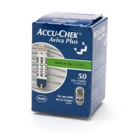 ACCU-CHEK Aviva Plus Test Strips 50 Each [365702407107]
