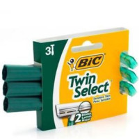 Bic Twin Select Shavers For Sensitive Skin 3 ea [070330703704]