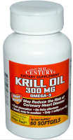 21st Century Krill Oil 300 mg Softgels 60 ea [740985273678]