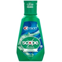 Crest Plus Scope Classic Mouthwash, Original Formula 33.80 oz [037000956624]