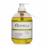 Olivella Virgin Olive Oil Face and Body Liquid Soap  16.9 oz [764412260000]
