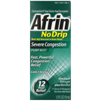 Afrin No Drip Severe Congestion Pump Mist 15 mL [041100820334]