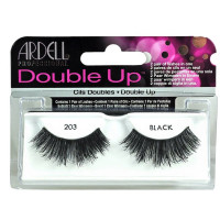 Ardell Double Up [203] False Eyelashes, Black 1 ea [074764471161]