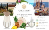 Dimensions Bring Home the World Collection with Fragrance Plug-in 1  ea [691039107503]