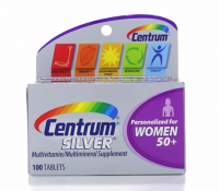 Centrum Silver MultivitaminTablets, Women 50+, 100 ea [300054756527]