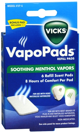 Vicks Vapopads Refill Pads 6 Each Pharmapacks