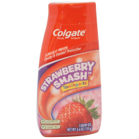 Colgate Fluoride Toothpaste Strawberry Smash Liquid Gel 4.60 oz [035000782281]