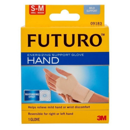 FUTURO Energizing Support Glove Hand Mild Support S-M 1 Each [051131200418]