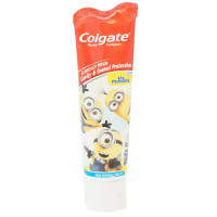 Colgate Kids Minions Toothpaste, Mild Bubble Fruit 4.60 oz [035000782946]