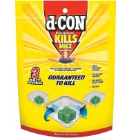 d-CON Bait Station Corner Fit - Disposable 3 ct. [019200940047]