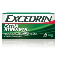 Excedrin Extra Strength Pain Relief Gel Tabs 80  ea [300672021809]