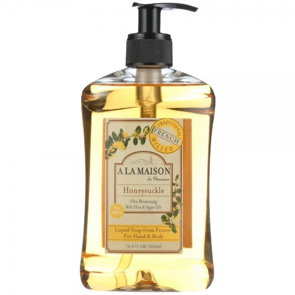 A la maison french liquid soap honeysuckle oz for A la maison liquid soap