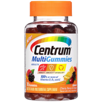 Centrum MultiGummies for Adults, Natural Cherry, Berry & Orange 70  ea [300054860705]