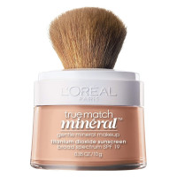 L'Oreal True Match Mineral Foundation, Natural Ivory, 0.35 oz [071249179192]