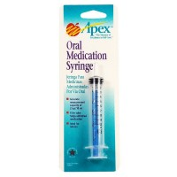 Apex Oral Medication Syringe 1 ea [076855700044]
