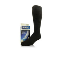 Sensifoot Sock 8-15, Black 1  ea [035664108670]