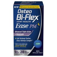 Osteo Bi-Flex Joint Health Ease PM Advanced Triple Action + Melatonin Mini Tablet 28 ea [030768647858]