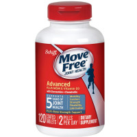 Schiff Move Free Advanced Plus MSM & Vitamin D3 Coated Tablets 120 ea [020525950697]