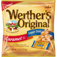 Werther's Original Sugar Free Caramel Hard Candies 12 pack [072799831400]